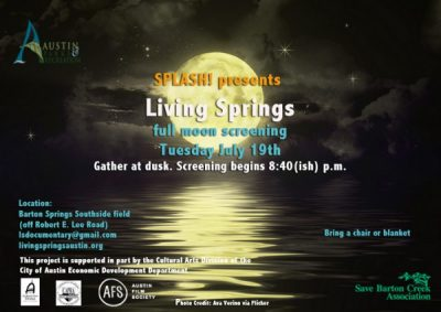 Living Springs Full Moon Screening #1