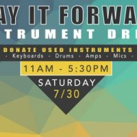 Play it Forward! Instrument Drive