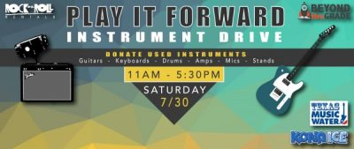 Play it Forward! Instrument Drive presented by Beyond the