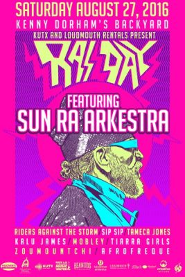 KUTX 98.9 and Loudmouth Rentals present: RAS DAY featuring Sun Ra Arkestra