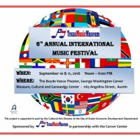 6th Annual International Music Festival