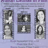 Austin Latinas in Film Panel