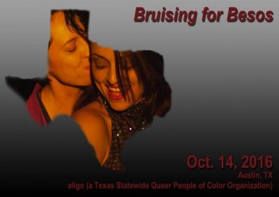 Bruising for Besos Texas Premiere