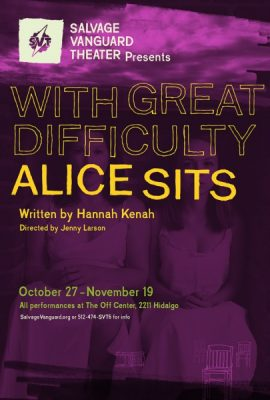 With Great Difficulty Alice Sits
