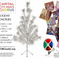 Capital City Men's Chorus presents Holiday Memories!