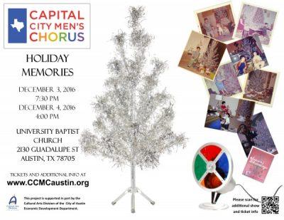 Capital City Men's Chorus presents Holiday Memories!
