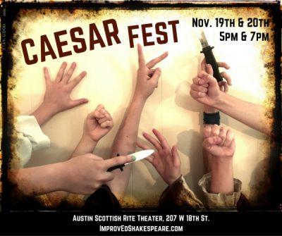 ImprovEd Shakespeare's Caesar Fest