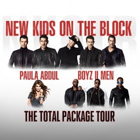 New Kids On The Block The Total Package Tour