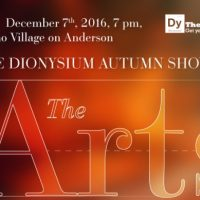 The Dionysium Autumn Show : The Arts