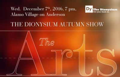 The Dionysium Autumn Show : The Arts