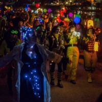 Minor Mishap Marching Band's Winter Solstice Lantern Parade