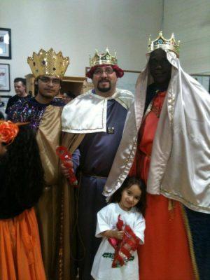 Los Reyes Magos Celebran Octavitas 2017