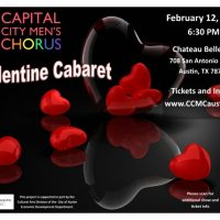 The Capital City Men's Chorus present Valentine Cabaret!