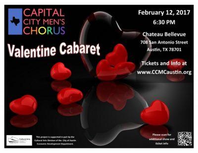 The Capital City Men's Chorus present Valentine Cabaret!