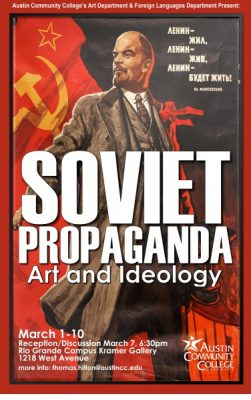 Discussion/Reception: Soviet Artifact Exhibition with Professor Liro