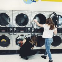 Washers: Performances by Julia Caswell and Madison Weakley