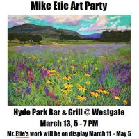 Hyde Park Bar & Grill Art Party for Mike Etie