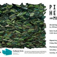 Piles, heaps and mounds: drawing exhibition by Elise Powell