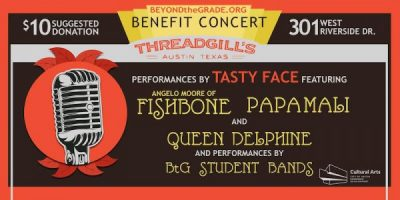Beyond the Grade Spring Benefit Concert w/Tasty Face and Student Bands