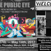 "In the Public Eye: New Work by Nathan ""SLOKE"" Nordstrom"