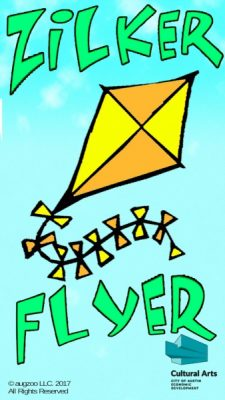 Zilker Flyer, A Free Augmented Reality Kite Flying App