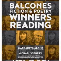 Balcones Fiction & Poetry Winners Reading