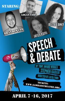 Speech and Debate By Stephen Karam
