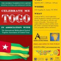 Celebrate Me! TOGO (West Africa)