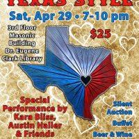Love, Texas Style:  The Gaslight-Baker Theatre 2017 Gala