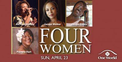 Women in Jazz presents 'Four Women - A Tribute to Great Singers'