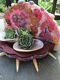The Art of Reuse: Mini Succulent Shrines with Mary Kraemer