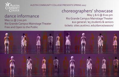 Spring Choreographers' Dance Showcase