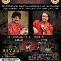 Summer Instrumental Workshop 2017