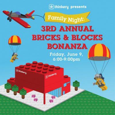 Family Night: 3rd Annual Bricks & Blocks Bonanza