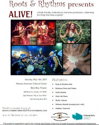 Roots & Rhythms presents ALIVE! at the MACC