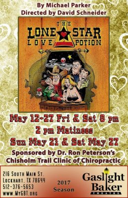 Lone Star Love Potion – A Comedy by Michael Parker