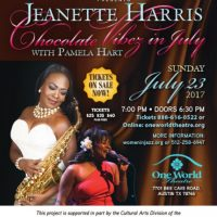 Jeanette Harris - Chocolate Vibez in July with Pamela Hart