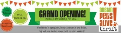 Austin Pets Alive Thrift Grand Opening Austin Pets Alive At Austin Pets Alive Thrift Austin Tx Kids Family