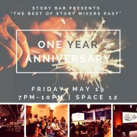 Story Bar's One Year Anniversary