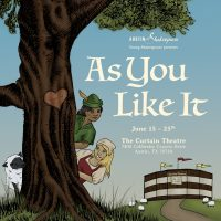 Young Shakespeare's As You Like It