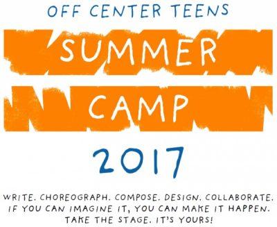 Off Center Teens Summer Camp
