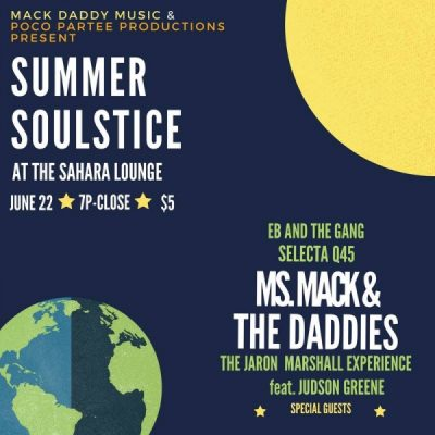 Summer Soulstice: Music and Food