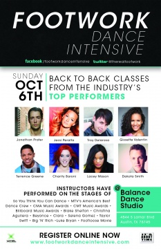Footwork Dance Intensive