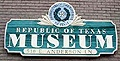 Republic of Texas Museum